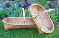 Footed Herb Baskets